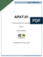 Apat Level 1 [Wpba 2010]