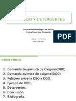 Dbo, Dqo y Detergentes Exp