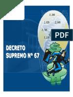 Decreto Supremo n 67