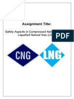 Safety Aspects of CNG and LNG Systems