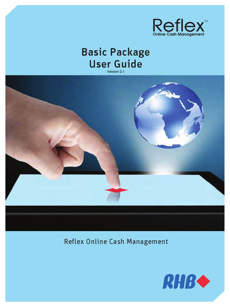 Basic RHB User Guide FA2 | Cheque | Banking