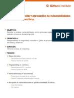 deteccion correccion y prevencion de vulnerabilidades en entornos corporativos