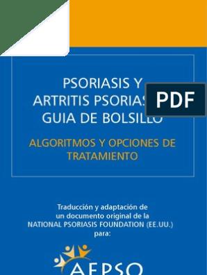 Algoritmo nacional de tratamiento de la base de la psoriasis para diabetes