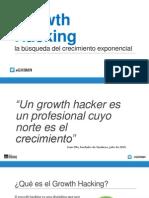 Masterclass IIMN - Growth Hacking y el Crecimiento exponencial - por Val Muñoz de Bustillo