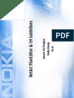 NetAct PlanEditor & CM Guidelines v1.0