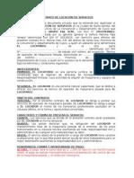 Contrato de Locacion de Servicio Grupo p&l