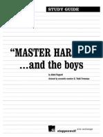 Master Harold Study Guide literature