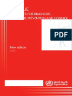 DENGUE  Guidelines for Diagnosis, Treatment, Prevention and Control 2009
