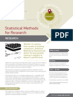 statistical methods for research