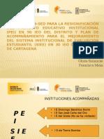 Primera Socialización de Avances PEI Grupo 8