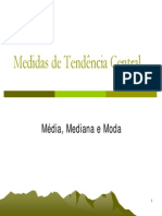 Modulo II - Medidas de Tendencia Central - 1