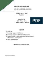 notice of councilmeeting 11-10-2015