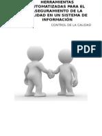 Herramientas de aseguramiento de la calidad de los sistemas de informacion