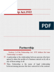 Partnership Act 1932