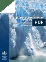 El Estado Del Clima Mundial 2001-2010