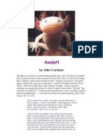 Axolotl by Julio Cortazar