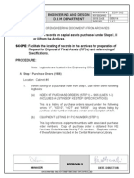 Edp-002 Retrieval of Engineering Document From Archivies