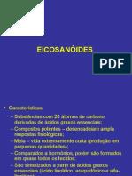 Aula 3 - Bioquimica Dos Eicosanoides