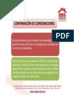 Presentacion Confirmaciones de Consignaciones