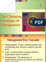 Changing Paradigm of Management