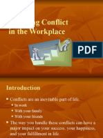 Handling Conflict at the Workplace