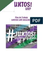 Plan de Trabajo CU-CF - Periodo 2015-2016