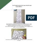 CARA MEMBUAT SARUNG BANTAL dan GULING dari KAIN PERCA.pdf