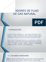 medidores de gas natural