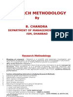 Research Methodology for ISM