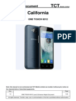 ALCATEL ONE TOUCH 6012 L2 Repair Document V1.0