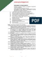 Assessment of Fringe Benefits