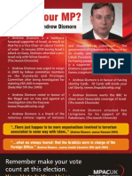 Andrew Dismore Leaflet
