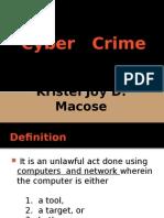 Cyber-Crime- by Kristel.pptx