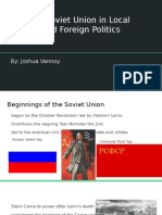 the soviet union in local and foreign politics presentation