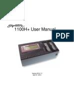 1100H Users Manual Version 2014.1.0