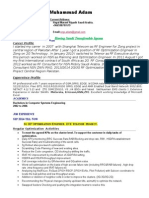 M.adam RF 2g_3g Planning and Optimization Consultant