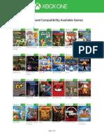 La lista de juegos retrocompatibles entre Xbox 360 y Xbox One