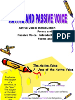 Active and Passive Voice Revised 3