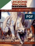 DD5 - 06 Lost Crown of Neverwinter Module