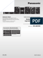 Manual de Usuario SC-AKX92