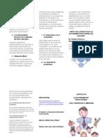 Los Valores Del Profesionalismo y La Profesionalidad de Los Docentes