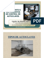 Tipos, Operacion e Inspeccion de Autoclaves