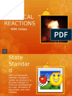 chemical reactions11
