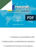 Tendencias Mundiales de IED y Estrategias de Promoción y Regionalización - Dr. Juan Carlos González