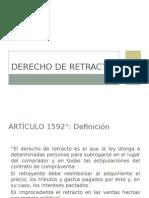 Derecho de Retracto - Perú