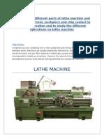 Lathe Machine (Machining)