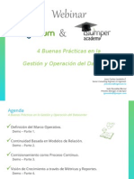 Webinar - 4 Buenas Practicas en La Operacion y Gestion Del DataCenter v3.6