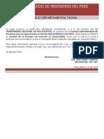 Comunicado Invitacion CARLEC