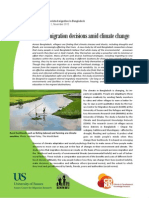 Climate change-related migration in Bangladesh Briefing paper No 1, November 2012