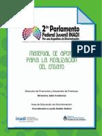 Material de apoyo  parlamento federal juvenil